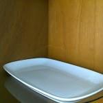 Piring kotak persegi panjang Rp 20.000