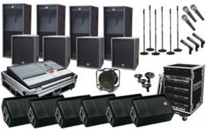 Sound System 7000 watt
